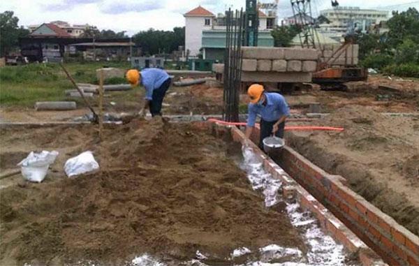 Phòng chống mối chông trình xây mới bằng thuốc PMS 100: 09820...